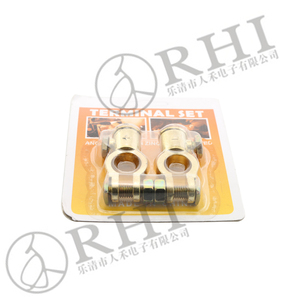 Car Auto side post terminations brass copper battery terminals