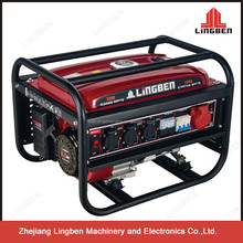 2kw ac gasoline generator single cyliner 4 stroke for sale price mini generator LB2600DXE-C3
