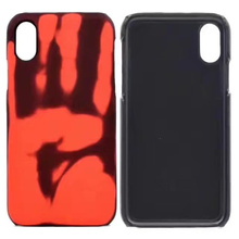 Newest design interesting heat sensitive soft plastic cell phone case for iphone 5 5s SE cover