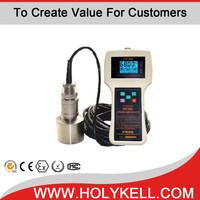 Ultrasonic liquid level meter for ultrasonic depth measurement
