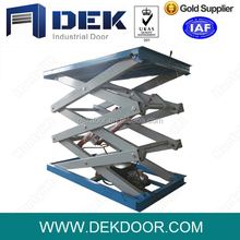 scissor type elevating mobile lift platform, high rise full-automatic aerial work platform price