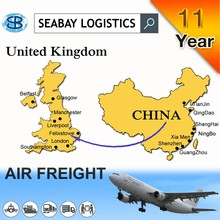 Air UK freight shipping cargo rates
