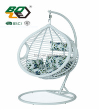 Patio Basket Swing Chair,Rattan Egg Hanging Chair