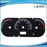 Custom PC Auto Universal Digital Speedometer Faceplate Panel
