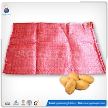 Mesh bags for packing onions and potato