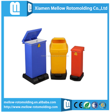 Industrial waste bin with LLDPE material