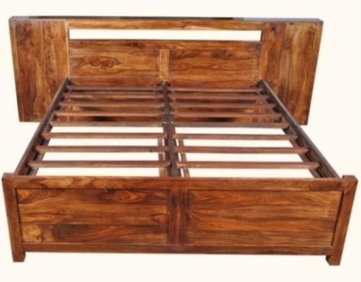 Antique Traditional Hardwood Bed