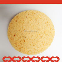 wholesale Natural Compressed Cellulose Sponge/Wood Pulp Sponge FOR Flower