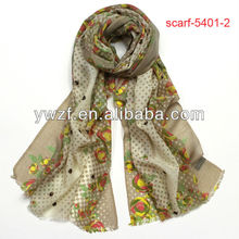 wear indian shawl