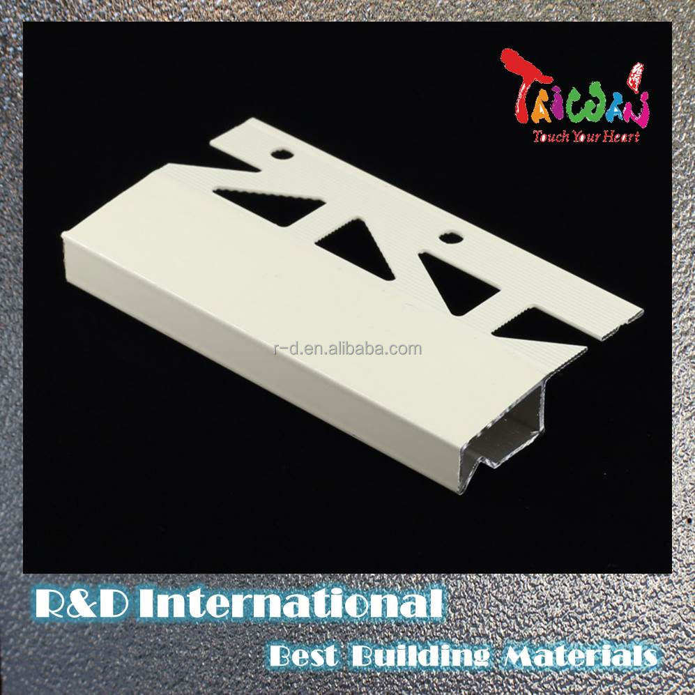 Taiwan Metal Roof Coping Stainless Steel Free Sample Tile Trim