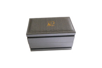 2014 elegant wooden & leather gift watch box wholesale