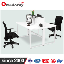 2 Person Office Desk Side Table Patition Workstation