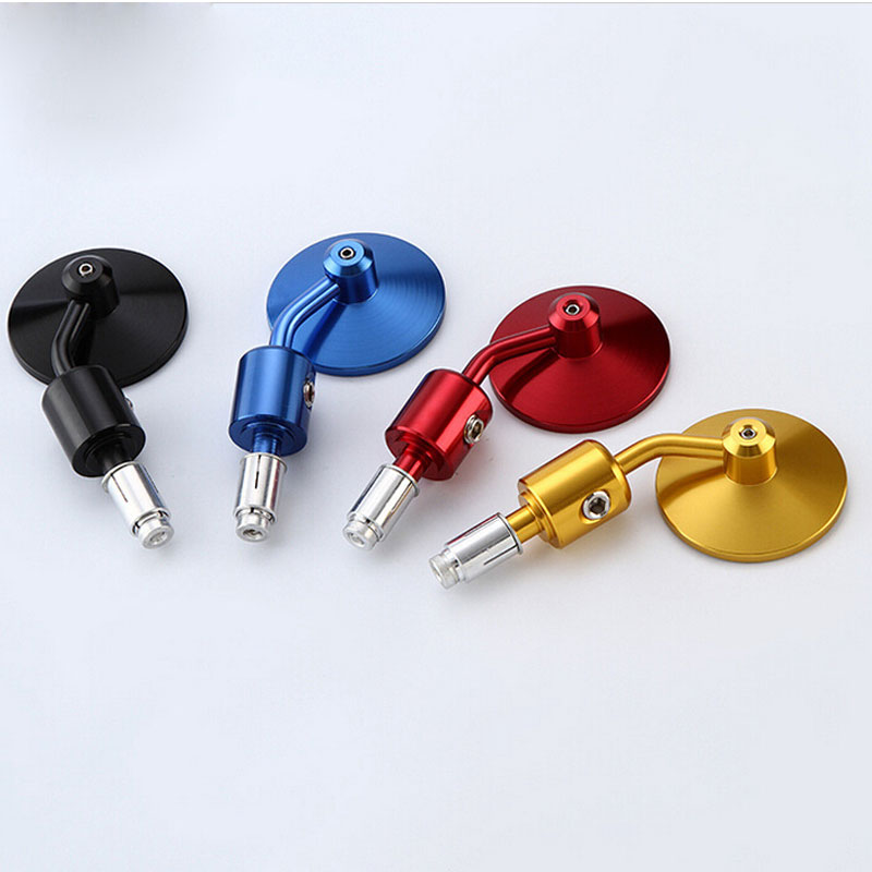 Colorful Dirt Bike Motorcycle Universal CNC Bar End Mirror