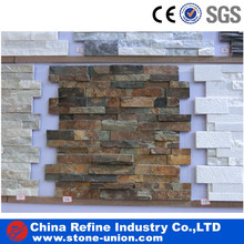 Natural stone flat surface stone for exterior wall cladding