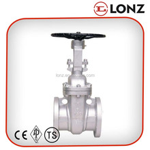 WCB Flanged Rising Spindle API Gate Valve