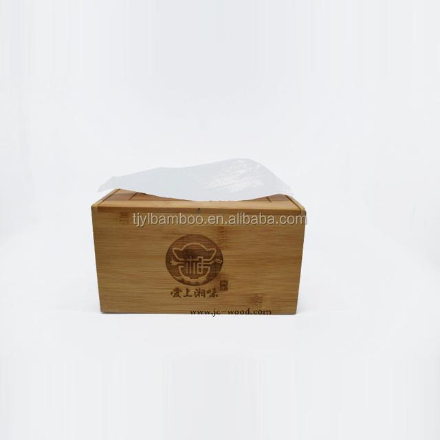 factory direct cheap custom making wooden tissue box