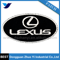 Custom Embroidery Lexus car patches