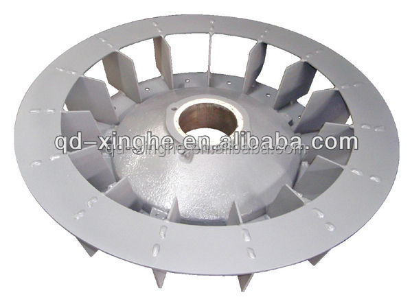 China aluminum impeller casting