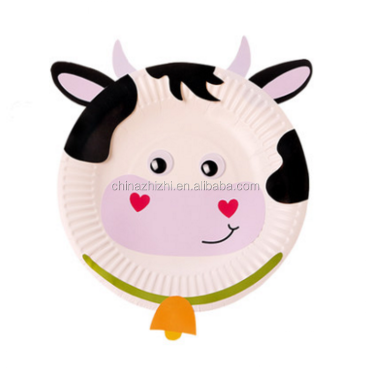 Paper Plate Cow Craftulate  sc 1 st  Plate & Paper Plate Cow - Best Plate 2018
