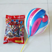 Hot sale Rainbow Latex Balloon for Wedding and party