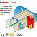Dustless Shot Blasting Chamber To Blast Cleaning Transformers
