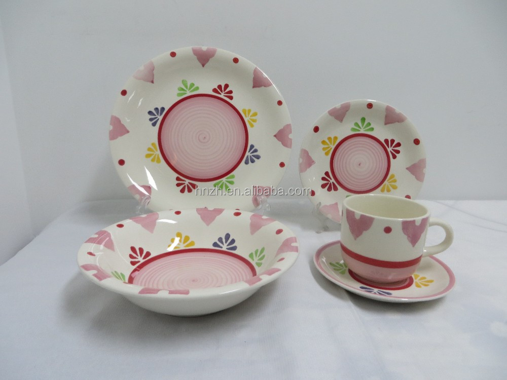 China products ceramic table ware children dinner set