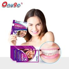 Hot sale in Europe 1 hour express long lasting strong sticky dental care Teeth Whitening Strips Dry strips