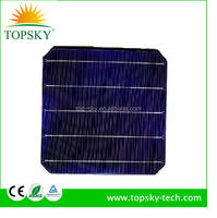 2016 highest efficiency A Grade Monocrystalline Solar Cell 6x6 For DIY Solar Panel over 5.14W/Pc, 5bb solar cell made in Taiwan