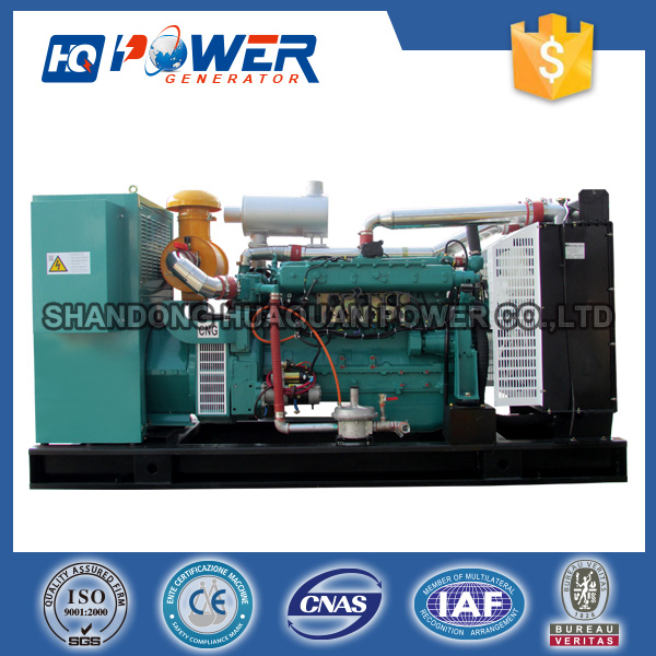 100kw power force continuous operation biogas electric generator