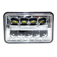 Guangzhou Aukma 4x6 Premium LED Headlight Conversions - Clear H4651 H4656 H4666