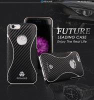 DIY your own cell phone case cover , for iphone 6 6s plus carbon fiber mobile phone case