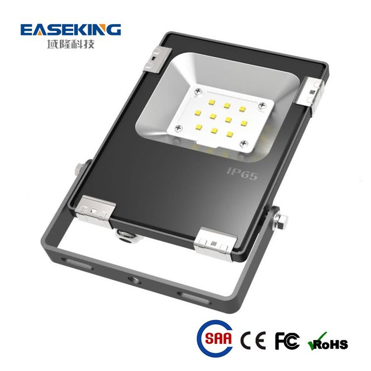 Good heat sink 10w outdoor led light flood ip65 waterproof for garden and park