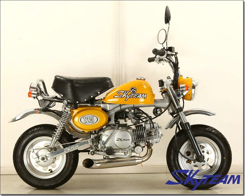 SKYTEAM 125cc 4 stroke monkey motorcycle monkey bike (EEC EUROIV EURO4 APPROVED)