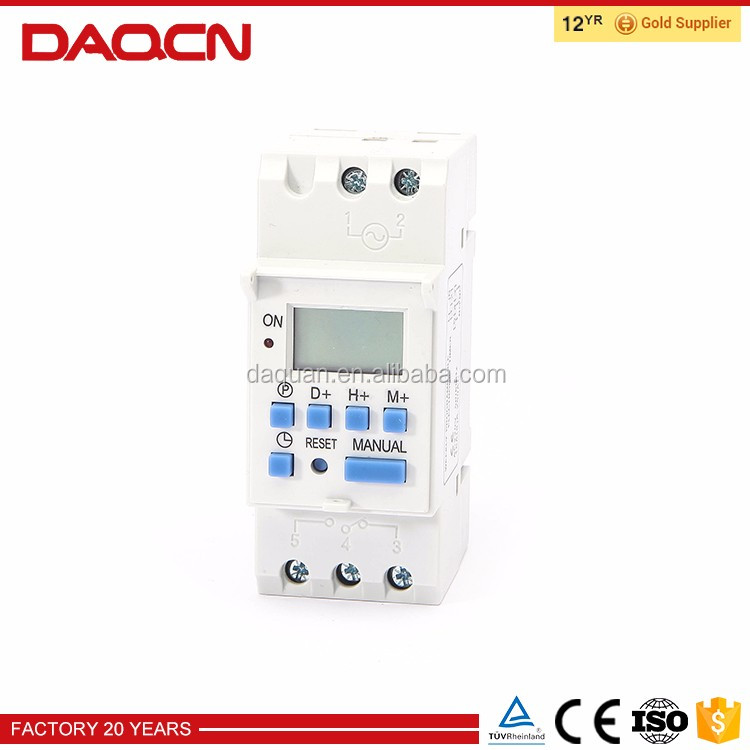 DAQCN Weekly Programmable Funny Digital Timer