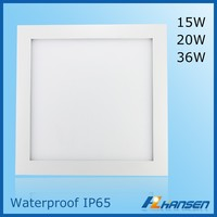 aluminum 240 led panel light commericial lighting fixture alibaba solar panel 20w waterproof IP44 IP65 LED ceiling panel light