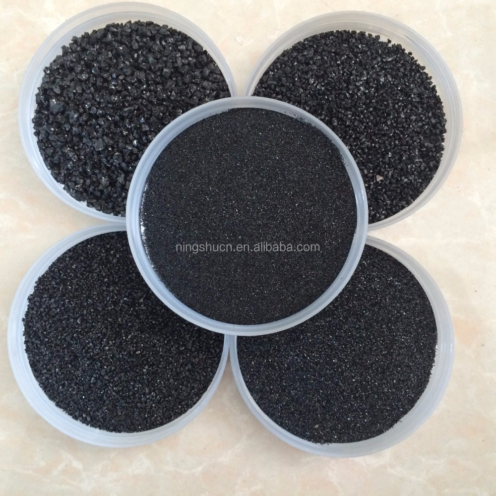 low price per ton black silica sand quartz granules for building sand