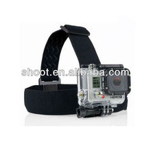 Photo accessories head strap for GoPro HERO 2 3 with Mount Adapter