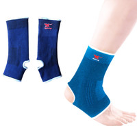 HYL-1382 factory price breathable elastic sports running ankle support for injury