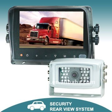 "7"" Digital car monitor reversing camera system"