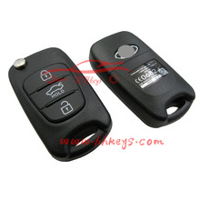 Modified Model Remote flip Key Shell for Ka Rio key fob Case with 3 button