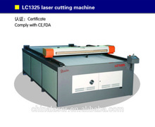 wedding dress/men jackets LC1325 laser cutting machine