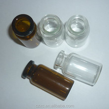 3ml,5ml,7ml,10ml,12ml,15ml,20ml,25ml lyophilization glass vials