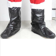 2017 new promotional chrismas gifts cheap christmas santa claus boots fashion plastic santa boots from yiwu factory
