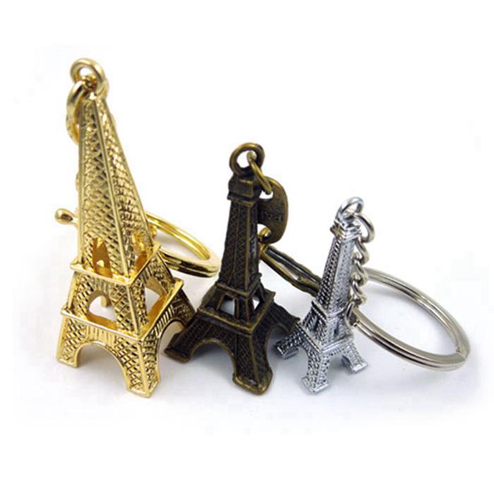 premium quality cool eiffel tower custom key chain personalized keychain whol. Black Bedroom Furniture Sets. Home Design Ideas