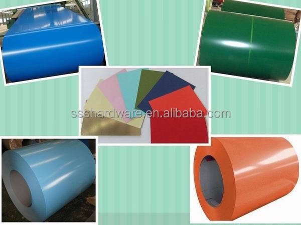 Hot PPGI Prepainted galvanized steel coils /good price from China for roofing made in china hot sale