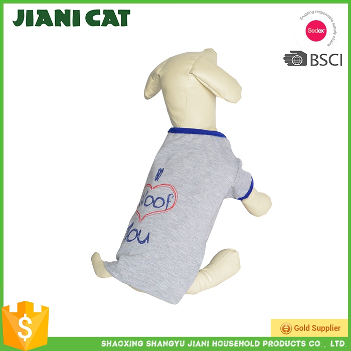 New Style Factory Directly Provide Dog Clothes Dog T-Shirt