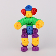 Hot sale cheap factory custom plastic connecting blocks buy Toys from China QL-039(C)