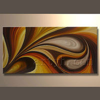 Latest Decorative Handmade Wonderful Textured Abstract Oil Painting
