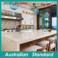 AIS-KC-015 Customized modern kitchen design, lacquer white finish cabinet, long overhead range hood