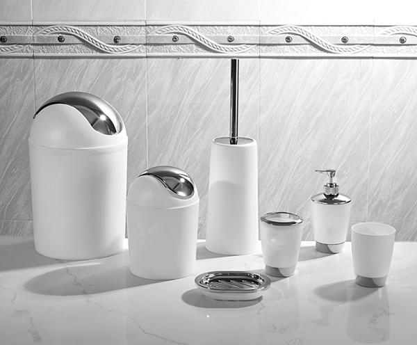 6pcs hotel bathroom accessories unique design bathroom for Unusual bathroom accessories set